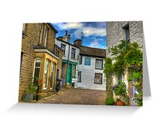 Dent Village Street Greeting Card