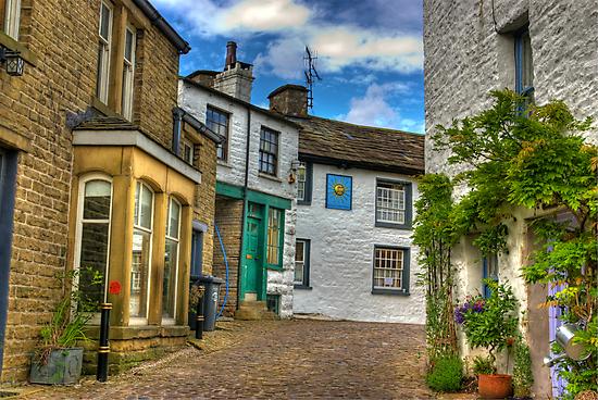 Dent Village Street by Trevor Kersley