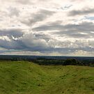 View from the Hill of Tara. by Finbarr Reilly