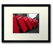 Out Of Order Framed Print