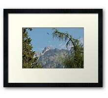 Tatras Mountains in Slovakia Framed Print