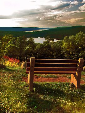 Rest at Quabbin  by LudaNayvelt