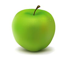 Green apple by AndyCash