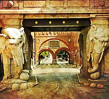 CARLSBERG Elephant Gateway by © Kira Bodensted