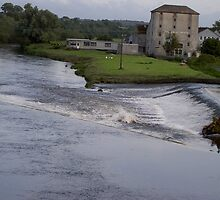 Weirs on the Nore-Bennetsbridge-Co.Kilkenny [Please View Large] by Pat Duggan