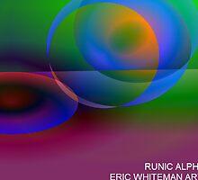 ( RUNIC ALPHABET ) ERIC WHITEMAN ART  by eric  whiteman