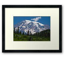 Mt. Rainier at Paradise (Washington State) Framed Print