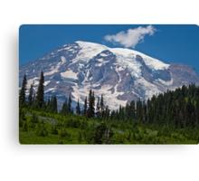 Mt. Rainier at Paradise (Washington State) Canvas Print