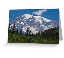 Mt. Rainier at Paradise (Washington State) Greeting Card