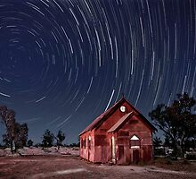 Star Trails at Lightning Ridge by Bill Atherton