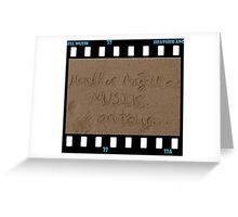Heather Angell Musik - On Tour Greeting Card