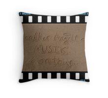 Heather Angell Musik - On Tour Throw Pillow