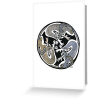 Celtic brush tailed Possums. Greeting Card