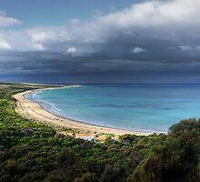 """Go Ride a Wave"",Urquhart Bluff,Great Ocean Road,Australia. by Darryl Fowler"