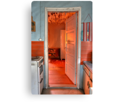 5.8.2009: Welcome to Redrum... Canvas Print