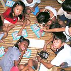 Philippines kids play bingo by Dave P