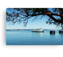 Anacortes ~ San Juan Island Ferry Canvas Print