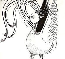 Fire bird by Susan van Zyl