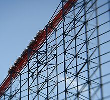 The Pepsi Big One, Blackpool Pleasure Beach by Matthew Walters