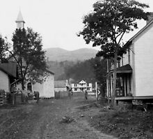 Vintage Photo of Hayters Gap in Southwest Virginia by Linda Costello Hinchey