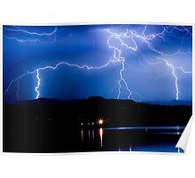 Lightning Blues Poster