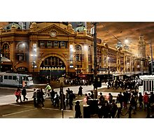 Flinders Street Station Photographic Print