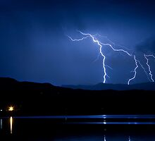 Boulder County Lake Lightning 08.05.09 by Bo Insogna