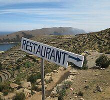 Restaurant on Isla del Sol by lasko