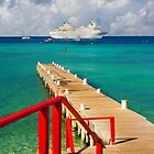 Cayman Islands cruise ship dock by Jerry Clitty