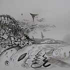 From Berry to Thirroul (detail) by Jedika