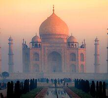 Taj Sunrise by Brendan Buckley