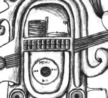 The Music Machine Sticker