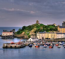 Tenby Harbour by Mark Robson