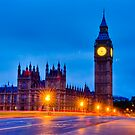 Big Ben By Night / Morning by DonDavisUK