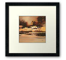 Arisaig Dusk Light Framed Print