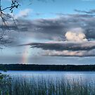 rainbow view by Cheryl Dunning