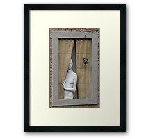 Donna Alla Finestra Framed Print