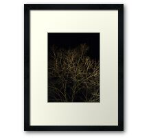 Cerebral Limbs Framed Print