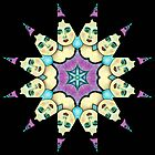 KALEIDOSCOPE STAR GIRL by Frances Perea