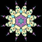 KALEIDOSCOPE STAR GIRL by Frances Perea