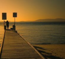 Nelson Bay Fisherman ... by Rosalie Dale