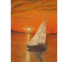 Sailing Home Photographic Print