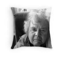 Lensgranny Throw Pillow
