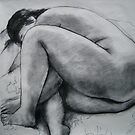 Nude in black and white by Bill Proctor