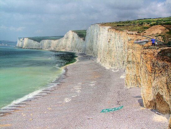 Birling Gap and the Seven Sisters - HDR by Colin J Williams Photography