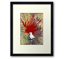 striper Framed Print