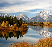 Oxbow Bend by David F Putnam