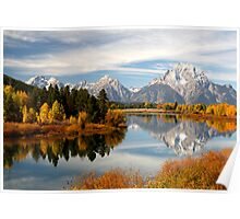 Oxbow Bend Poster