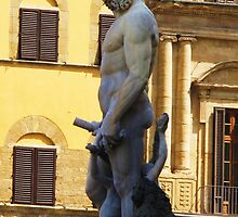 Classic Statue of Neptune, Florance, Italy by creativetravler