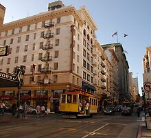 no left turn, san francisco  by mellychan